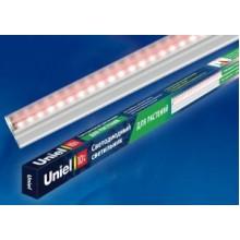 Uniel св-к св/д для растен. 10W (120°) пластик, с выкл. L=572mm, белый ULI-P16-10W/SPLE IP20