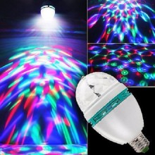 Диско LED лампочка