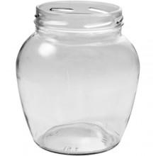 Банка стекл. 1,5 л. фонарь твист 100